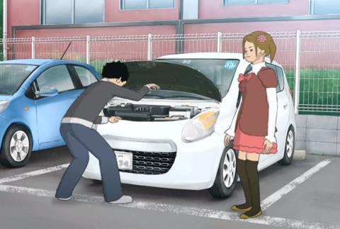 自動車の日常点検(エンジンルーム)、ボンネットを開けてチェックしてますか?